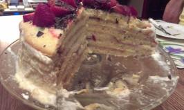 Danish Layer Cake (Dansk Lagekage). Photo by katspajamas