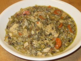 Sarasota's Minnesota Turkey, Mushroom and Wild Rice Soup. Photo by spreadnjoy