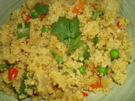 Couscous With Seven Vegetables. Photo by Karen Elizabeth