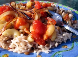 Egyptian Koshari. Photo by Dreamer in Ontario