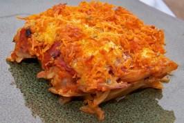 Vegan Cheesy Rice & Cabbage Casserole. Photo by Prose