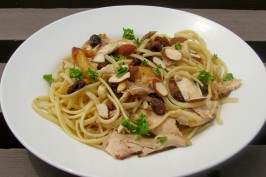 Nif's Chicken and Spaghetti With a Middle Eastern Twist. Photo by lazyme