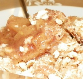 The Best Apple Crisp. Photo by Baby Kato