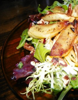 Roasted Apple and Cheddar Salad. Photo by Baby Kato