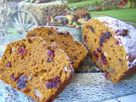Orange-Cranberry-Date Pumpkin Cake. Photo by Diana #2
