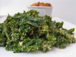 Raw Vegan Kale Chips. Photo by The Blender Girl
