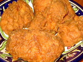 Popeyes Bonafide Spicy Chicken (Copycat). Photo by The Spice Guru
