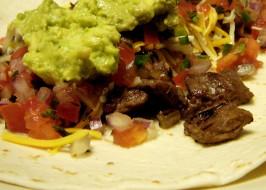 Carne Asada Burrito, San Diego Style. Photo by Hadice