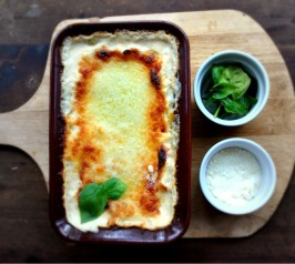 White Cheese Lasagna. Photo by Chef #428885