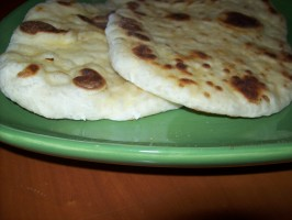 Naan (Indian Flatbread). Photo by Jostlori