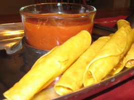 Mexican Taquitos (Flautas). Photo by DinnerDiva in OK