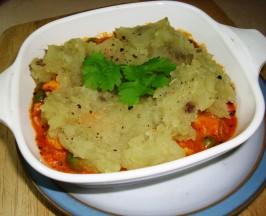 Chicken Curry Pie With Sweet Potato. Photo by Karen Elizabeth