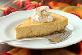 The Cheesecake Factory Pumpkin Cheesecake by Todd Wilbur. Photo by Delicious as it Looks