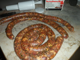 Chorizo - Colombian Style. Photo by FabioH