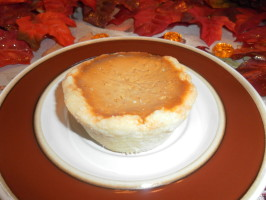 Holiday Pumpkin Pie. Photo by Garden Gate Kate