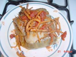 Cabbage Rolls / Golabki / Stuffed Cabbage. Photo by Timothy J Higgins Eva