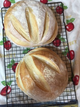 """Old Reliable"" French Bread (for Kitchen Aid Mixers). Photo by spiritmjs"