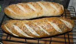 """""""Old Reliable"""" French Bread (for Kitchen Aid Mixers). Photo by MoggyK9"""