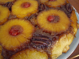 Mean Chef's Pineapple Upside-Down Cake. Photo by Columbus Foodie