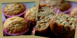 Banana Carrot Muffins. Photo by StephieP