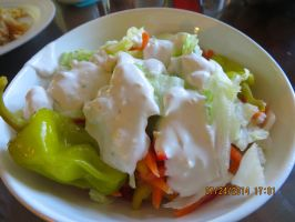 Chunky Blue Cheese Salad Dressing. Photo by Bonnie G #2