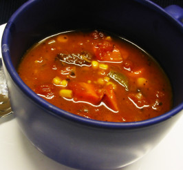 Old-Fashioned Vegetable Beef Soup. Photo by Caroline Cooks