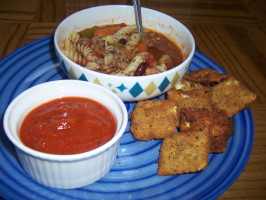 Olive Garden Toasted Ravioli. Photo by RobinS Smith