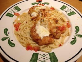 Copycat Olive Garden Parmesan Crusted Chicken. Photo by Nha eddy