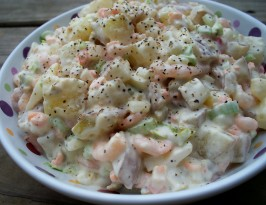 Shirley's Shrimp Potato Salad. Photo by *Parsley*