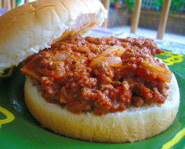 My Family's Favorite Sloppy Joes (Pizza Joes). Photo by tunasushi