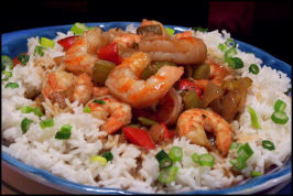Crawfish /Shrimp Etouffee. Photo by NcMysteryShopper