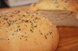 Romano's Macaroni Grill Rosemary Bread. Photo by treeharrison