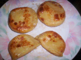 Homemade Potato and Cheese Pierogies /  Old Fashioned Perogies. Photo by Mimi Bobeck