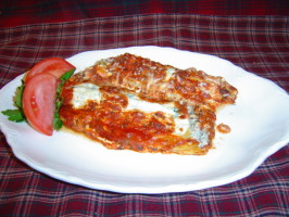 Baked Manicotti. Photo by Sue Lau