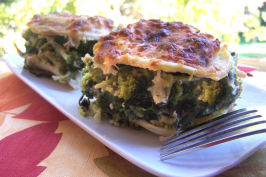 Ravioli Baked With Broccoli and Spinach. Photo by NcMysteryShopper
