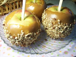 "Kittencal's Caramel Apples. Photo by ""Ratalouille"""