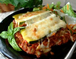 Zucchini Lasagna (Lasagne) - Low Carb. Photo by Marg (CaymanDesigns)