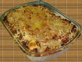 Baked Manicotti (Bolognese Ragu). Photo by bluemoon downunder