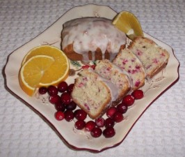 Cranberry-Orange Quick Bread. Photo by Danzy