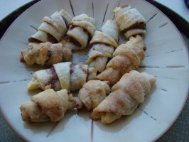 Rugelach (Filled Cream Cheese Cookies). Photo by pattikay in L.A.