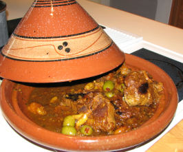 Tagine of Chicken, Preserved Lemon, & Olives. Photo by Bonnie G #2