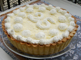Kittencal's Bakery Coconut Cream Pie. Photo by AdriMicina