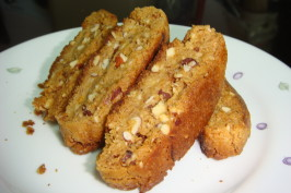 Kittencal's Almond Biscotti. Photo by momo_bone