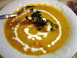 West Indian Pumpkin Soup. Photo by Sue Lau