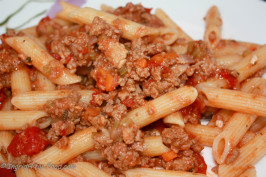"""REAL"" Italian Bolognese Sauce. Photo by IngridH"
