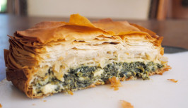 Spanakopita (Greek Spinach Pie). Photo by f.com let us down