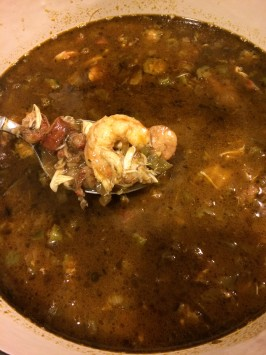 Ultimate Time-Consuming Seafood Gumbo. Photo by Chef #1803597862