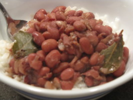 New Orleans Red Beans and Rice. Photo by kellychris