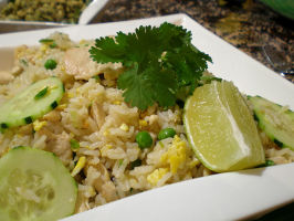 Mom's Thai Fried Rice. Photo by Sandi (From CA)