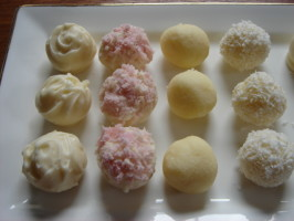 Coconut Cream Truffles. Photo by Ya Ya Sister